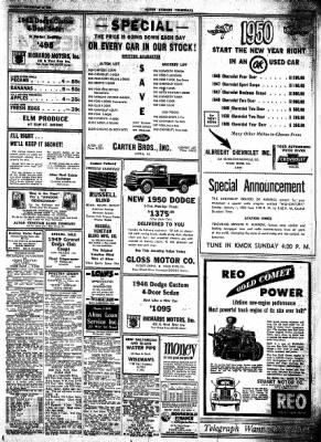 Alton Evening Telegraph from Alton, Illinois on December 30, 1949 · Page 15