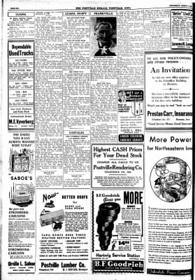 Postville Herald from Postville, Iowa on March 3, 1948 · Page 6