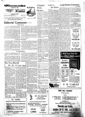 Fayette County Leader from Fayette, Iowa on October 26, 1961 · Page 2