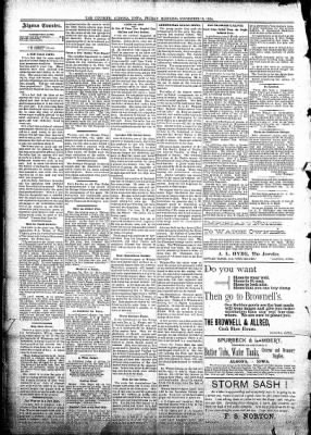 Algona Courier from Algona, Iowa on November 16, 1894 · Page 4