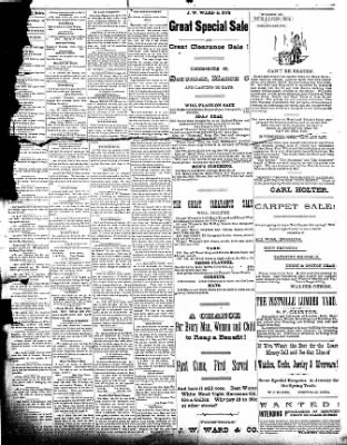 The Postville Review from Postville, Iowa on March 19, 1892 · Page 3