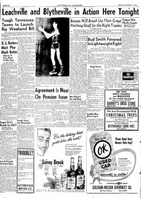 The Courier News from Blytheville, Arkansas on December 11, 1953 · Page 6