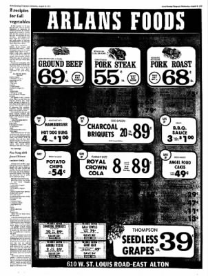 Alton Evening Telegraph from Alton, Illinois on August 30, 1972 · Page 20