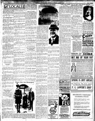 The Iola Register from Iola, Kansas on March 9, 1927 · Page 3