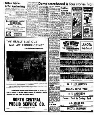 Kossuth County Advance from Algona, Iowa on May 17, 1965 · Page 4