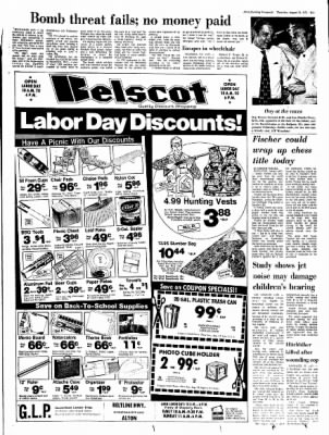 Alton Evening Telegraph from Alton, Illinois on August 31, 1972 · Page 19
