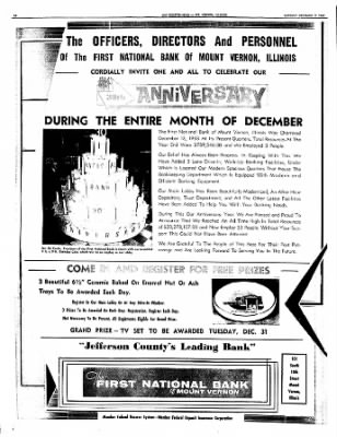 Mt. Vernon Register-News from Mt Vernon, Illinois on December 2, 1963 · Page 14