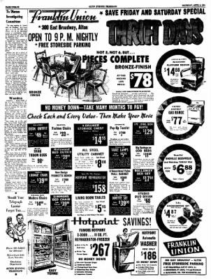 Alton Evening Telegraph from Alton, Illinois on April 6, 1961 · Page 11