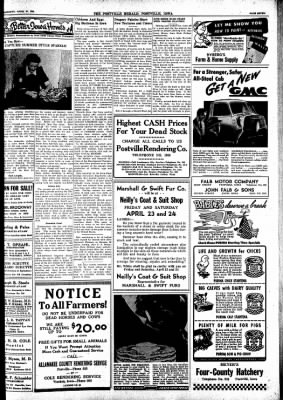 Postville Herald from Postville, Iowa on April 21, 1948 · Page 7