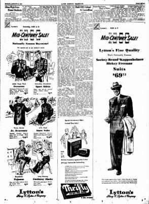 Alton Evening Telegraph from Alton, Illinois on January 6, 1950 · Page 7