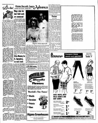 Kossuth County Advance from Algona, Iowa on May 20, 1965 · Page 9