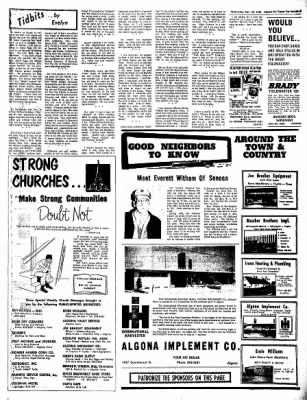 The Algona Upper Des Moines from Algona, Iowa on November 23, 1966 · Page 19