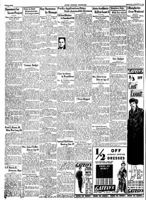 Alton Evening Telegraph from Alton, Illinois on January 9, 1950 · Page 2
