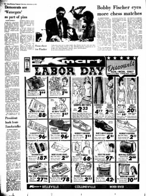 Alton Evening Telegraph from Alton, Illinois on September 2, 1972 · Page 14
