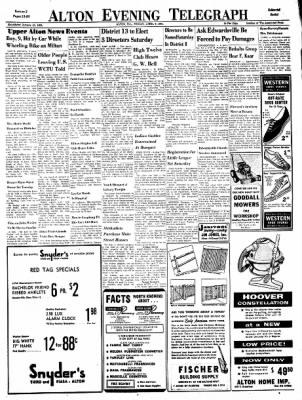 Alton Evening Telegraph from Alton, Illinois on April 7, 1961 · Page 13