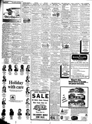 Alton Evening Telegraph from Alton, Illinois on September 2, 1972 · Page 22