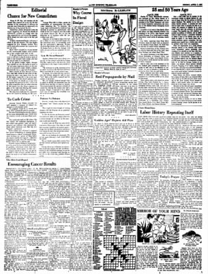 Alton Evening Telegraph from Alton, Illinois on April 8, 1961 · Page 4