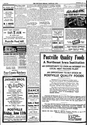 Postville Herald from Postville, Iowa on June 9, 1948 · Page 2