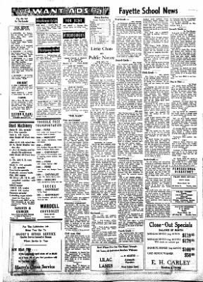 Fayette County Leader from Fayette, Iowa on February 22, 1962 · Page 4