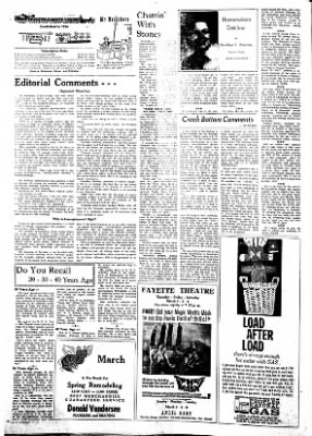 Fayette County Leader from Fayette, Iowa on March 1, 1962 · Page 2