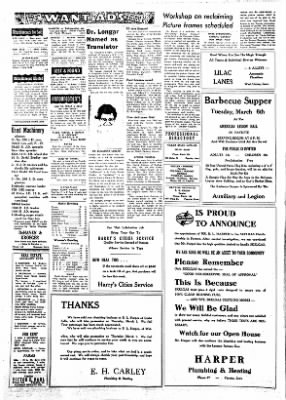 Fayette County Leader from Fayette, Iowa on March 1, 1962 · Page 6