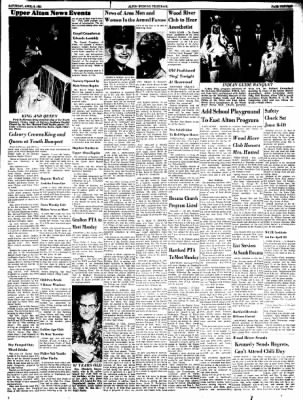Alton Evening Telegraph from Alton, Illinois on April 8, 1961 · Page 13