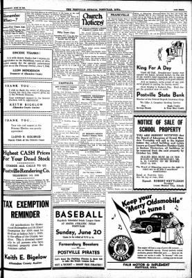 Postville Herald from Postville, Iowa on June 16, 1948 · Page 3