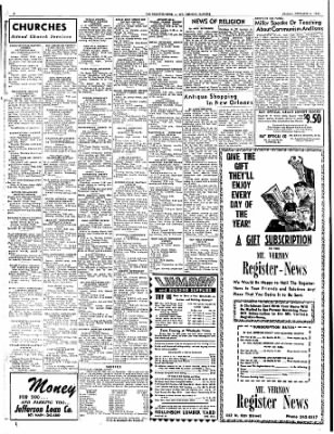 Mt. Vernon Register-News from Mt Vernon, Illinois on December 6, 1963 · Page 6