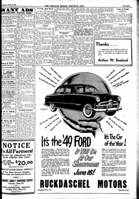 Postville Herald from Postville, Iowa on June 16, 1948 · Page 7