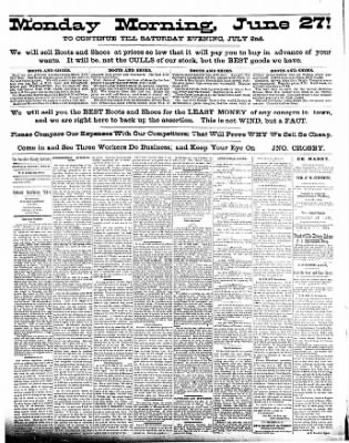 The Postville Review from Postville, Iowa on June 25, 1892 · Page 2
