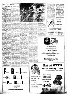 Fayette County Leader from Fayette, Iowa on April 5, 1962 · Page 9
