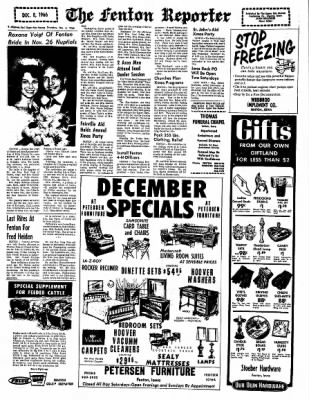 The Algona Upper Des Moines from Algona, Iowa on December 8, 1966 · Page 4