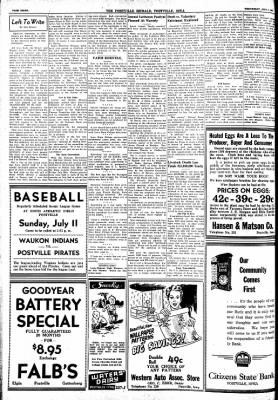 Postville Herald from Postville, Iowa on July 7, 1948 · Page 8
