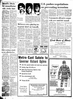 Alton Evening Telegraph from Alton, Illinois on September 7, 1972 · Page 2