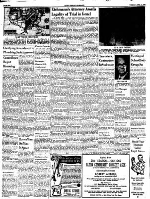 Alton Evening Telegraph from Alton, Illinois on April 11, 1961 · Page 2