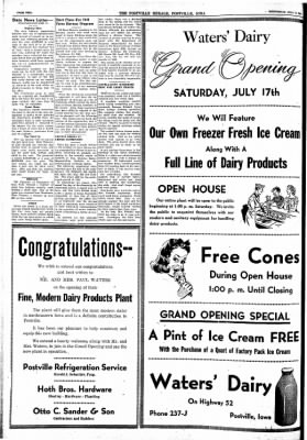 Postville Herald from Postville, Iowa on July 14, 1948 · Page 2