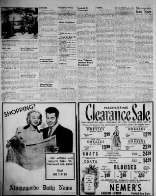 Alamogordo Daily News from Alamogordo, New Mexico on November 14, 1957 · Page 5