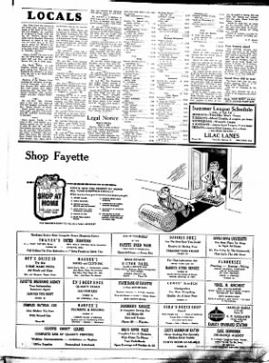 Fayette County Leader from Fayette, Iowa on May 3, 1962 · Page 4