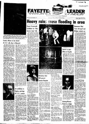 Fayette County Leader from Fayette, Iowa on May 3, 1962 · Page 6