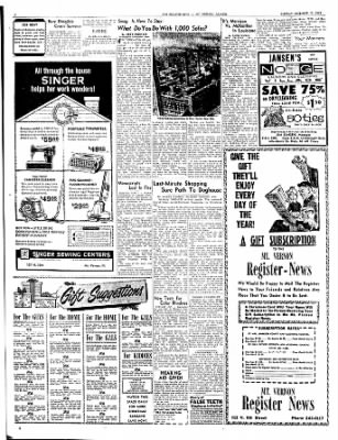 Mt. Vernon Register-News from Mt Vernon, Illinois on December 10, 1963 · Page 6