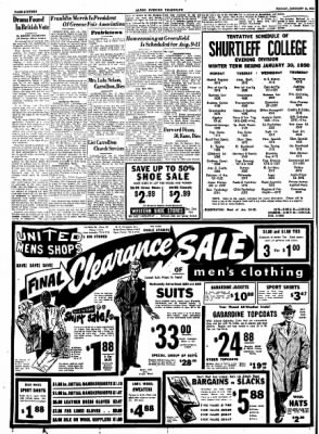 Alton Evening Telegraph from Alton, Illinois on January 13, 1950 · Page 16