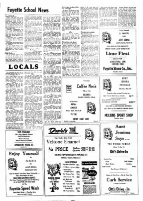 Fayette County Leader from Fayette, Iowa on May 17, 1962 · Page 8