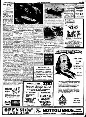 Alton Evening Telegraph from Alton, Illinois on January 14, 1950 · Page 3