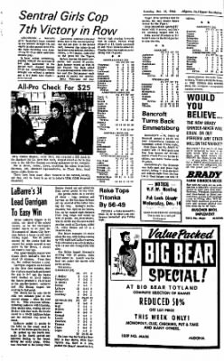 The Algona Upper Des Moines from Algona, Iowa on December 13, 1966 · Page 6
