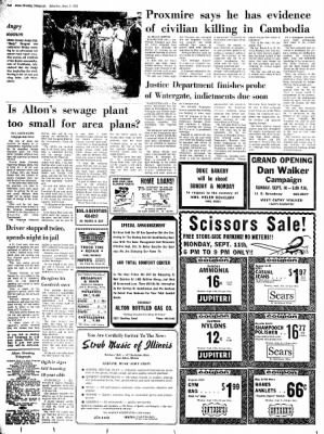 Alton Evening Telegraph from Alton, Illinois on September 9, 1972 · Page 2