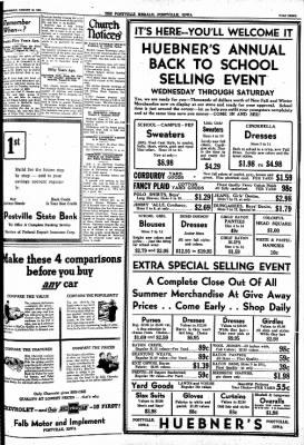 Postville Herald from Postville, Iowa on August 18, 1948 · Page 3