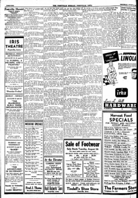 Postville Herald from Postville, Iowa on August 18, 1948 · Page 4