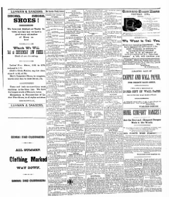 The Postville Review from Postville, Iowa on August 27, 1892 · Page 3