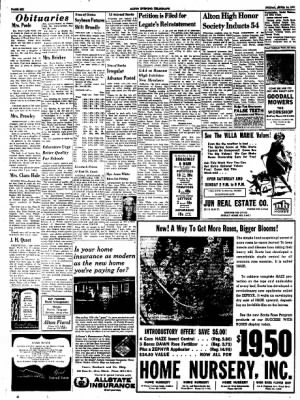 Alton Evening Telegraph from Alton, Illinois on April 14, 1961 · Page 6