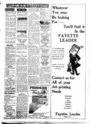 Fayette County Leader from Fayette, Iowa on July 12, 1962 · Page 8